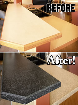Refinishing Countertops and Do-It-Yourself Painting - Miracle Method ...