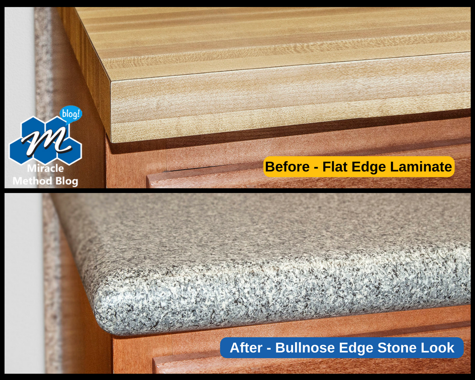 Bullnose Edge Kitchen Countertop Archives Miracle Method