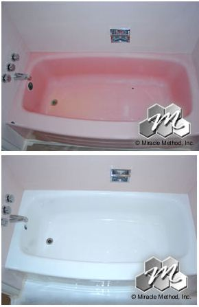 Miracle Method Bathtub Before and After