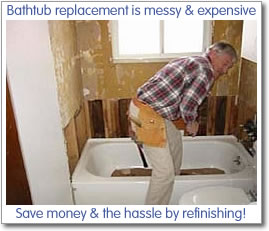 is it difficult to replace a bathtub and tile surround