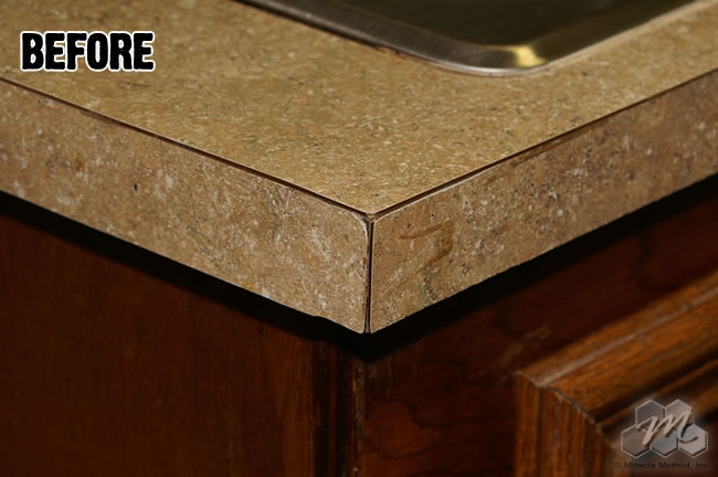 Update Your Countertops With A New Color And A Bullnose Edge