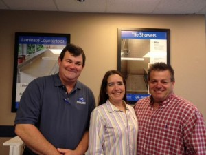 New Miracle Method franchisees, John Moses of Louisville, KY and Dede and Phil Panarisi of Indianapolis, IN