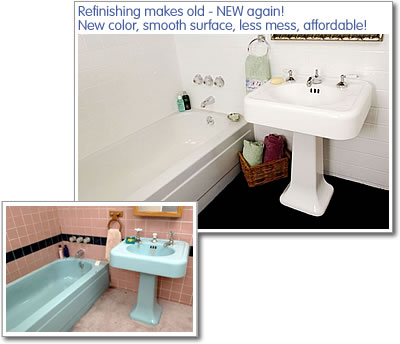 Delighted Painting A Tub Tiny Bathroom Refinishers Round Refinishing Reglazing Bathroom Old Bath Refinishers DarkRefinish Clawfoot Tub Cost Get A Whole New Look For Your Bathroom Without Replacing A Thing ..