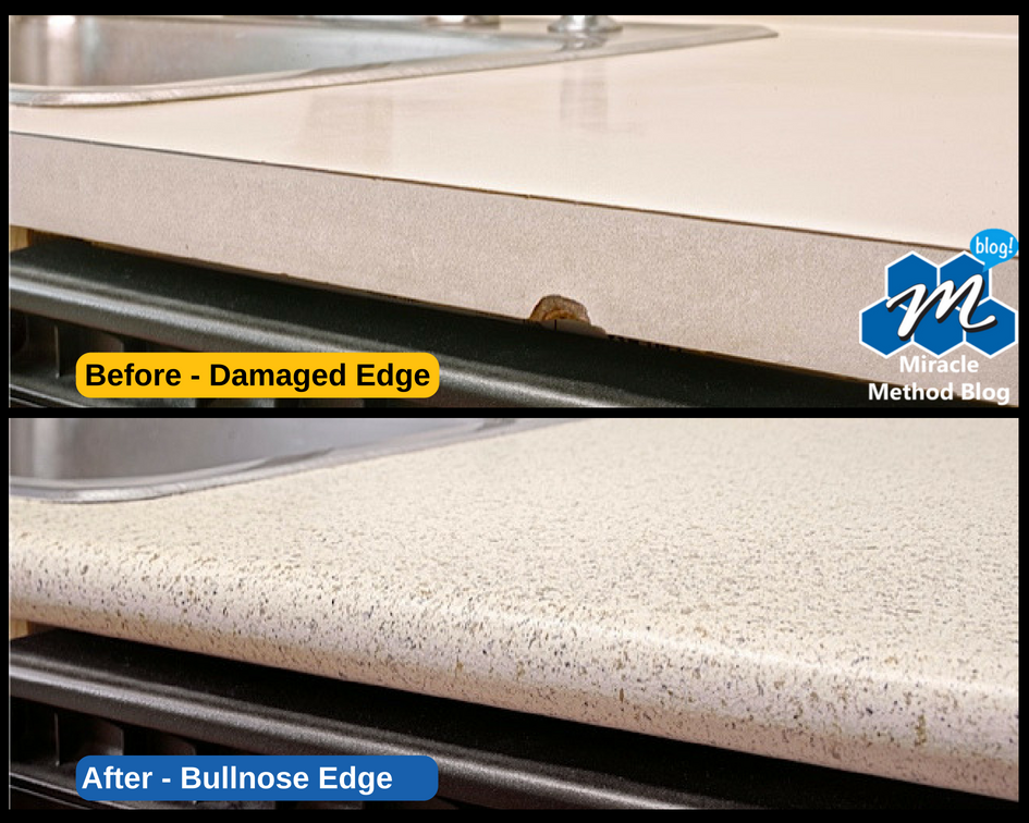 Miracle Method Kitchen Bullnose Edge Countertop