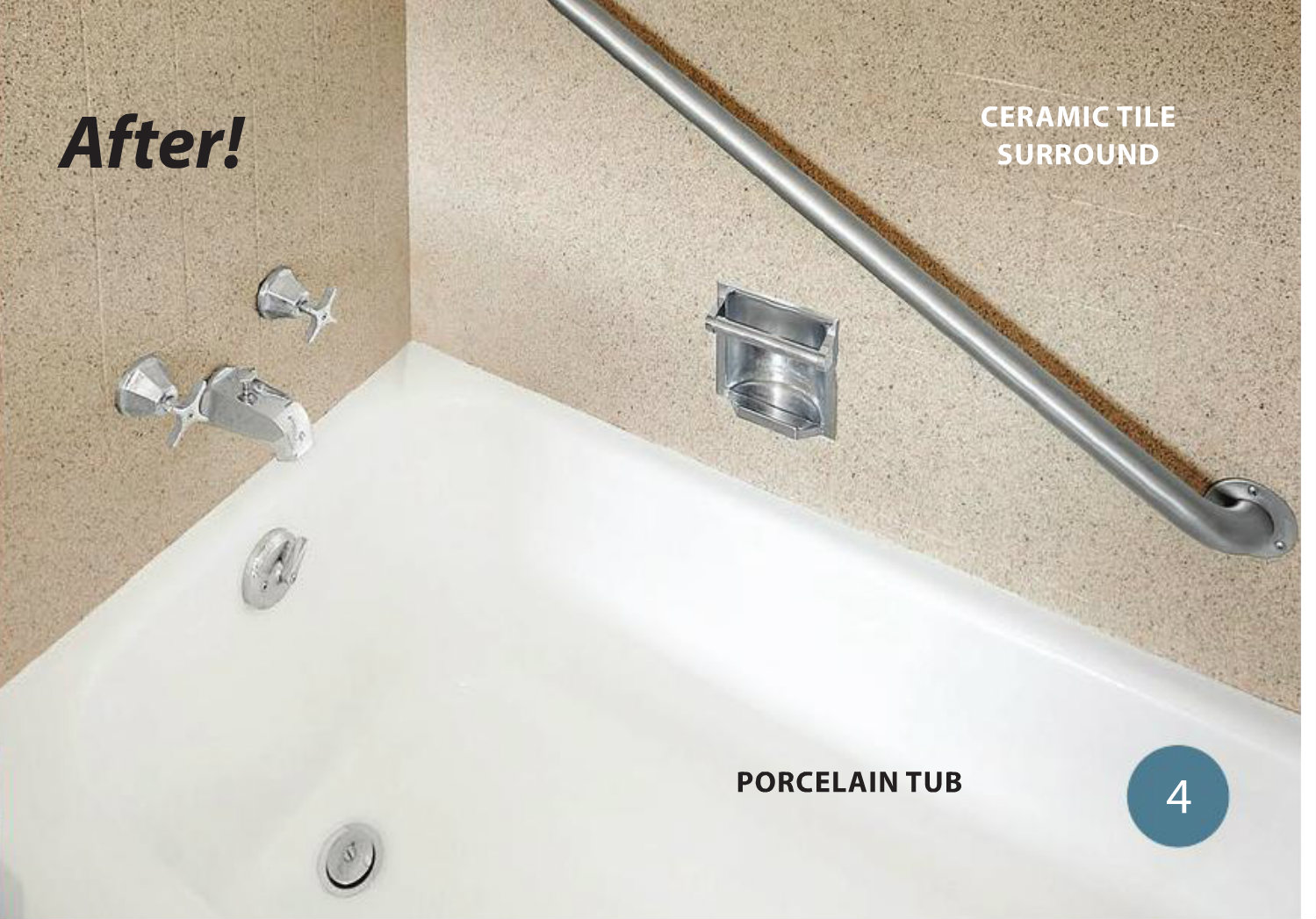 A better alternative to bathtub liners miracle method for Bathtub liner problems