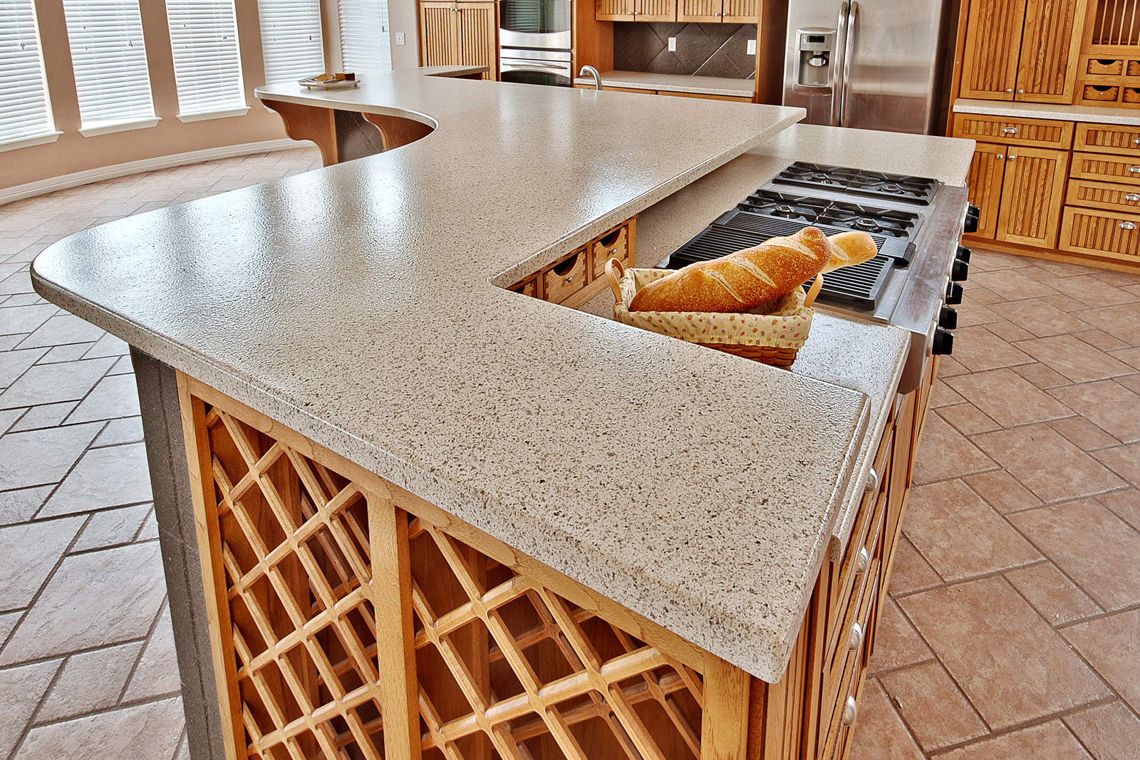 Corian Kitchen Countertops : Revive your outdated kitchen with countertop refinishing