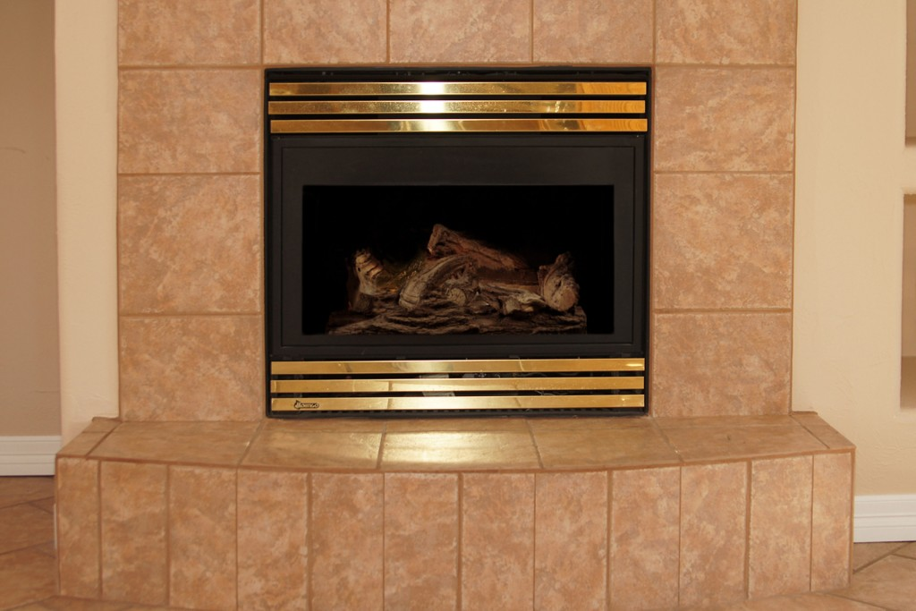 Refinishing Fireplace Part - 24: While The Majority Of Tile Refinishing Is Done In Kitchens And Bathrooms,  Those Are Not The Only Rooms Where Tile Can Be Refinished.