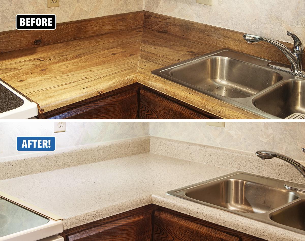 Countertop Refinishing Miracle Method Home Design Idea