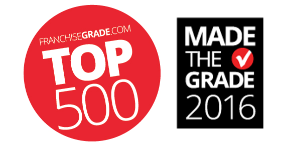 franchisegrade top 500