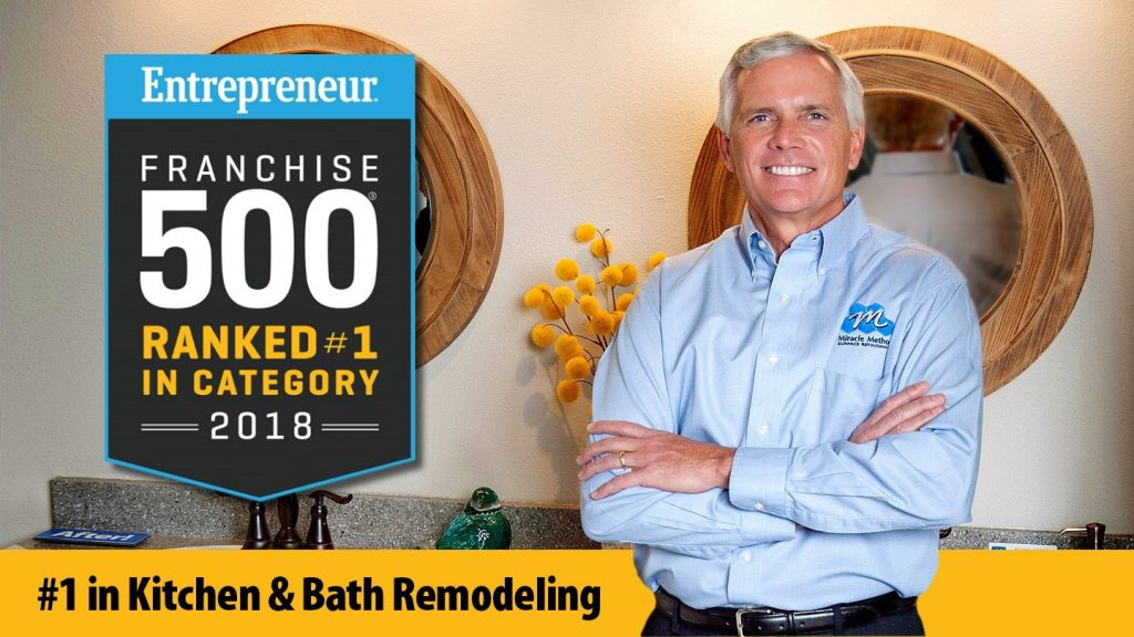 Miracle Method Named #1 Kitchen and Bath Remodeling Franchise