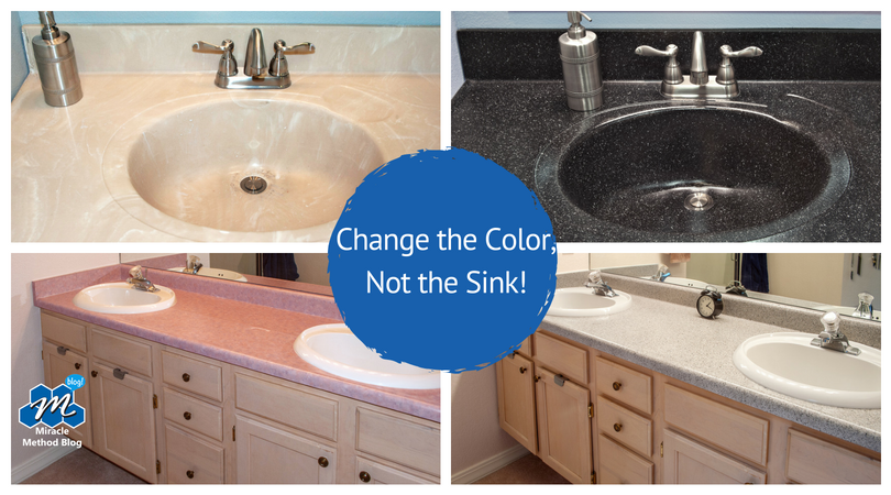 Change the Color, Not the Sink!